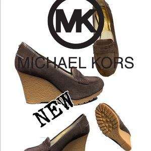 NWOT Michael Kors Rory wedged loafers